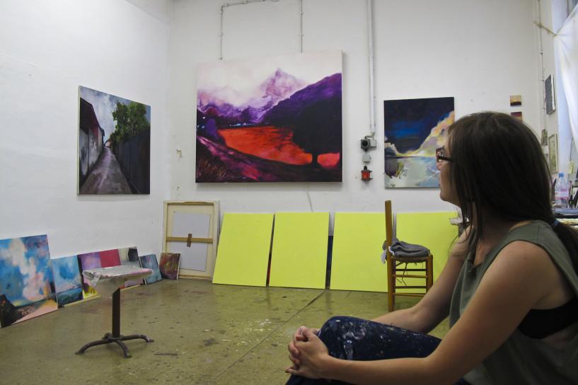 Maria Sainz Rueda - Leipziger Atelier