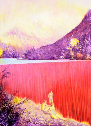 No hay banda | 250 x 180 cm, Öl auf Leinwand, 2016