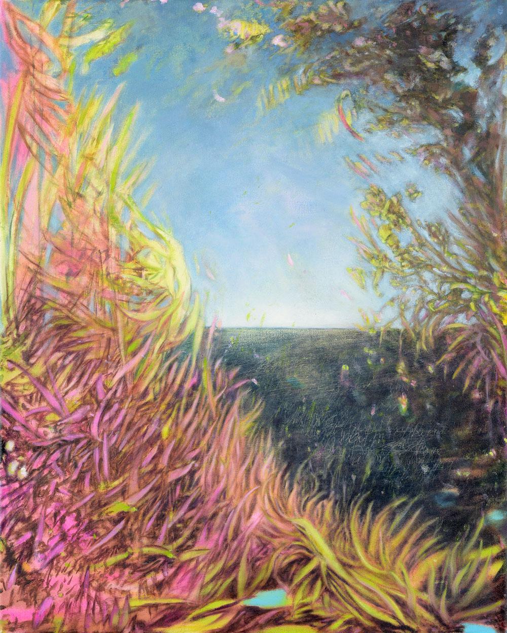 Exotismus, wilde Pflanzenstrukturen
